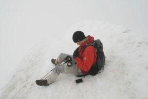 Auf dem Gipfel des Kebnekaise