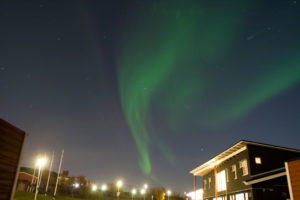 Die letzte Nacht (Campingplatz Kiruna)