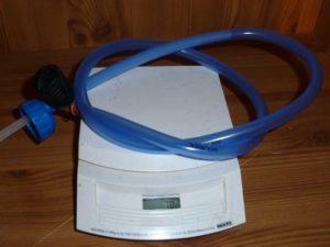 Gewicht des ConverTube