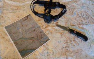 Klassische Karte & gedruckte Karte