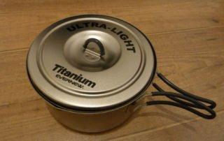 Evernew Titanium Topf