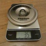 Evernew Titanium Topf Deckel