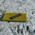 NeoAir auf Schnee