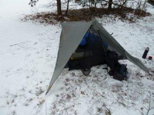 Tarptent Contrail im Schnee