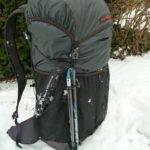 Trekkingstockhalterung