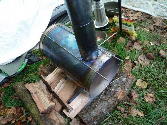 Titanium Goat Cylinder Stove