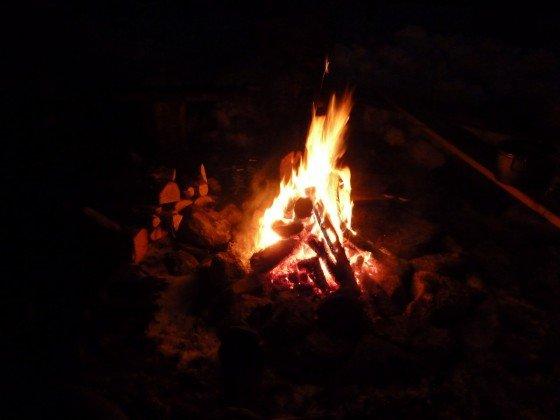 Feuer in Finnland