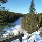 Helvetinjärvi-Nationalpark ultraleicht im Winter