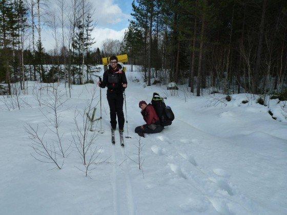 Ski vs. Schuhe
