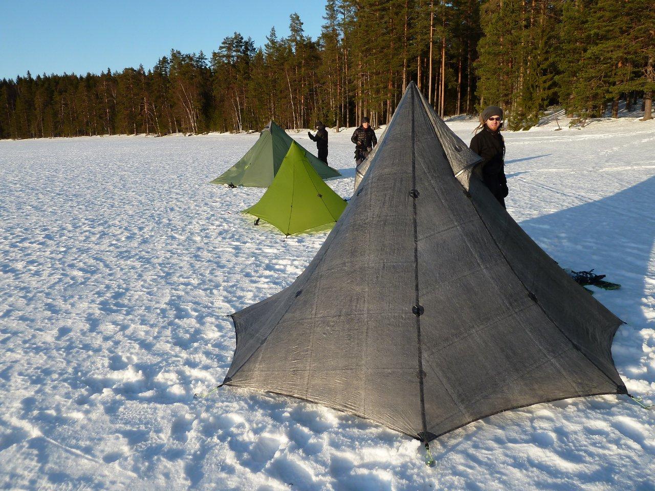 zelten im winter   outdoor blog, Hause ideen