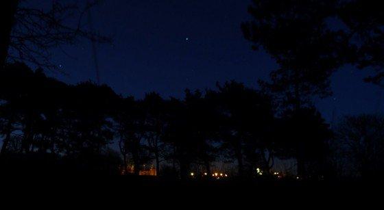 Kalmar Schloss bei Nacht
