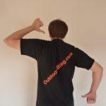 Outdoor Blog T-Shirt Rücken