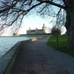 Weg zum Schloss von Kalmar