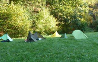 Ultraleicht-Zelte bzw. Shelters