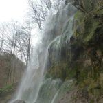 Nahaufnahme des Uracher Wasserfalls