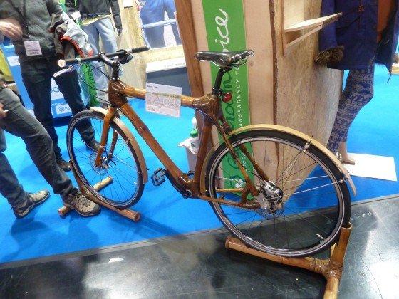 Bambus-Fahrrad