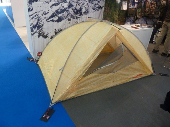 Cuben Fiber Zelt von Easton