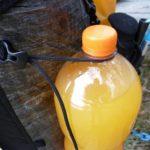 Flasche im huchePÄCKchen