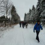 Wandern in der Rhön im Winter