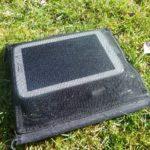 Netztasche mit Tablet