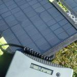 Goal Zero Nomad 13 und Minigorilla Solar-Kit