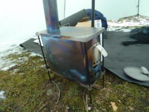 Titanium Goat WiFi Stove