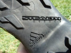 Adidas Stealth-Rubber Sohle