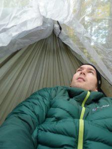 Exped Scout Hammock Kopffreiheit