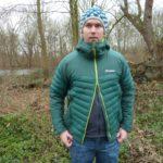 Berghaus - Men's Ulvetanna Hybrid Hydrodown Jacket halb offen