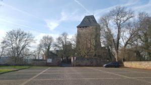 Parkplatz der Burg Nideggen