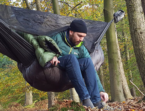 Video: Mein Hammock Setup