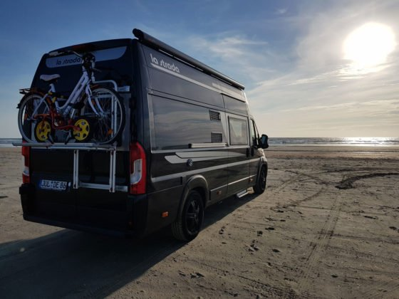 Vanlife am Strand