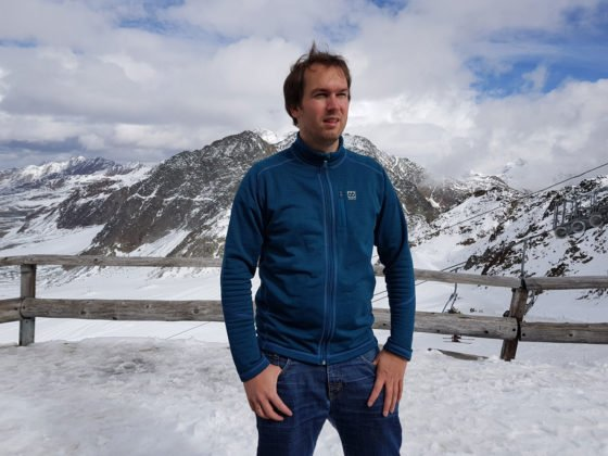 66 NORTH – Grettir Zipped Jacket in den Alpen