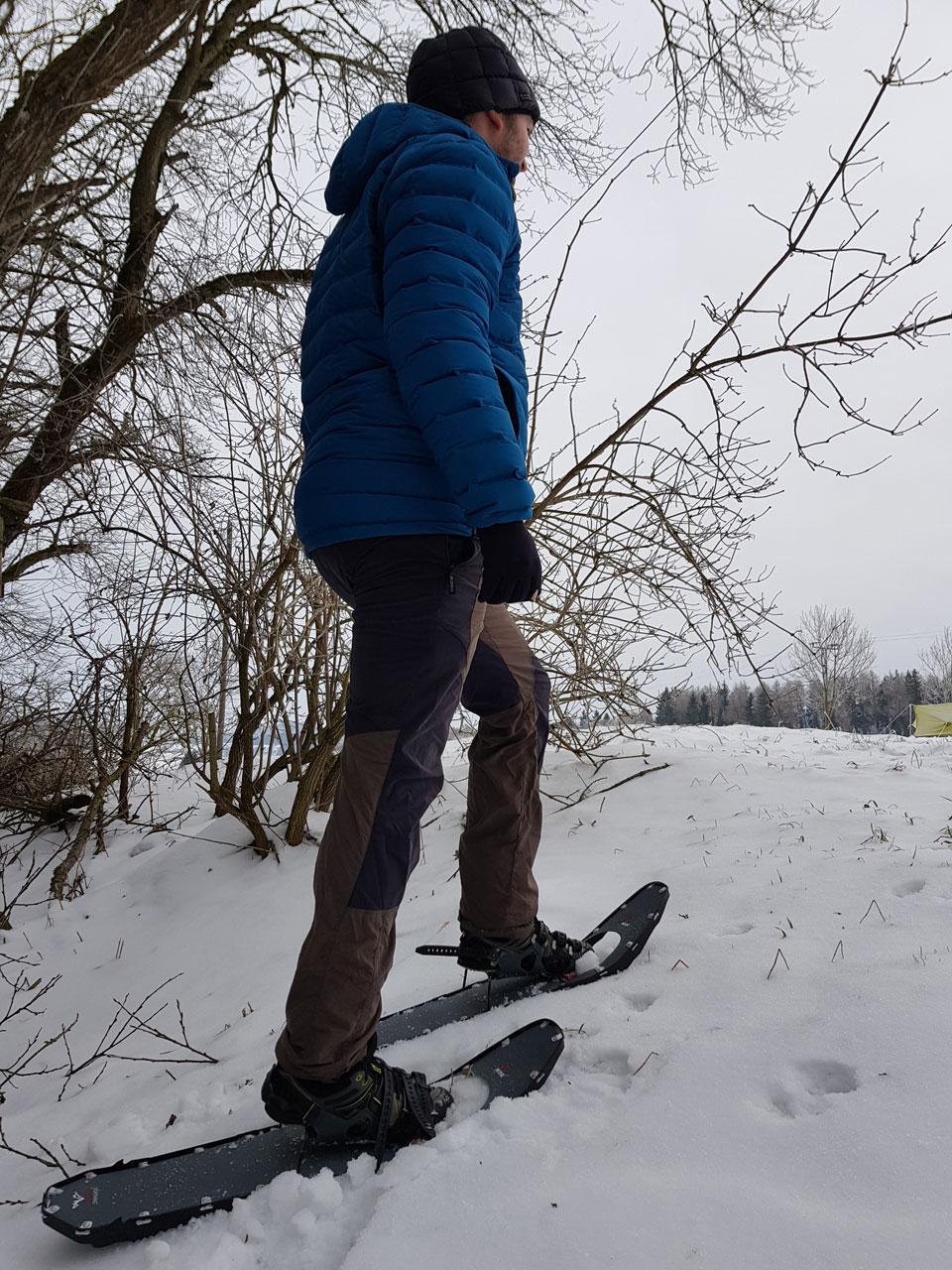 MSR Lightning Ascent Schneeschuhe Auftrieb