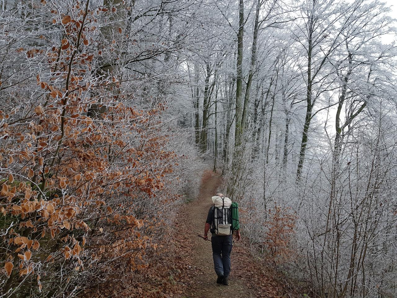 Eisige Temperaturen sorgen für atemberaumbendes Ambiente.