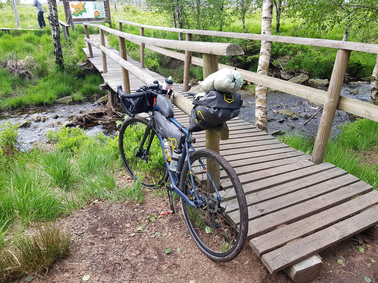Bikepacking im Hohen Venn